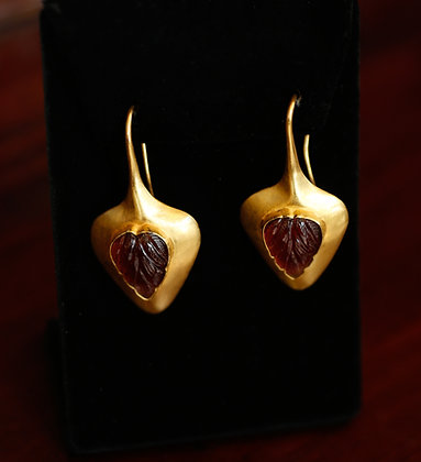 22K Gold Imperial Earrings