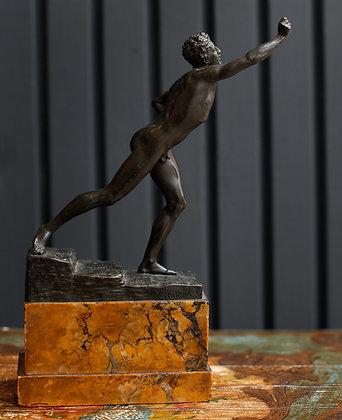 Bronze Sculpture By Max Kruse