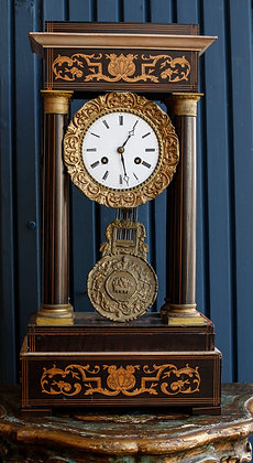 French Empire Wooden Clock ( Not working)