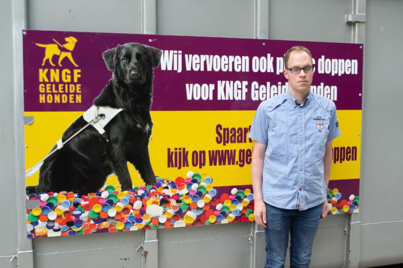 Doppen sparen voor KNGF geleidehond