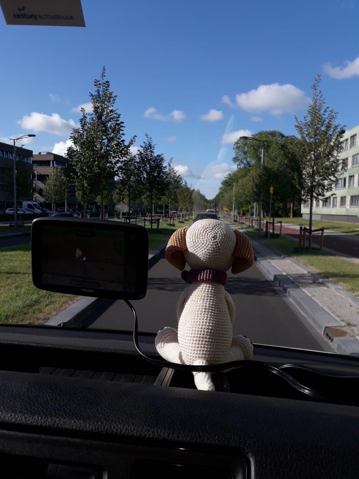 Doppie in de vrachtauto