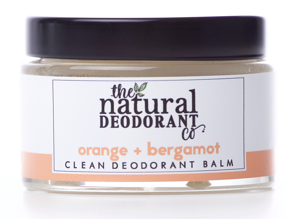 Clean Deodorant Balm Orange + Bergamot, 55g, £12.50. wearebee.co.uk