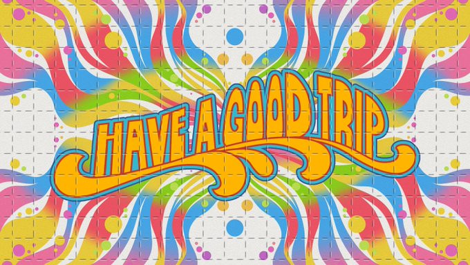 Have a Good Trip: Adventures in Psychedelics, one of our favourite documentaries, with stories from well-known faces such as Ben Stiller, Sarah Silverman, Rosie Perez, Nick Kroll and many more.