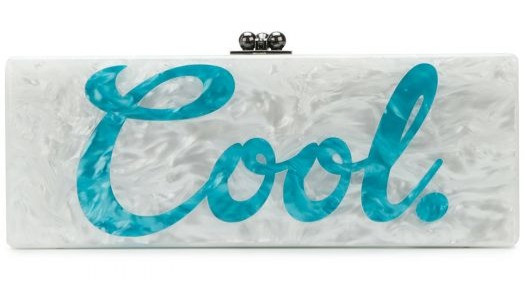 Edie Parker Cool Box Clutch, £190. wearebee.co.uk