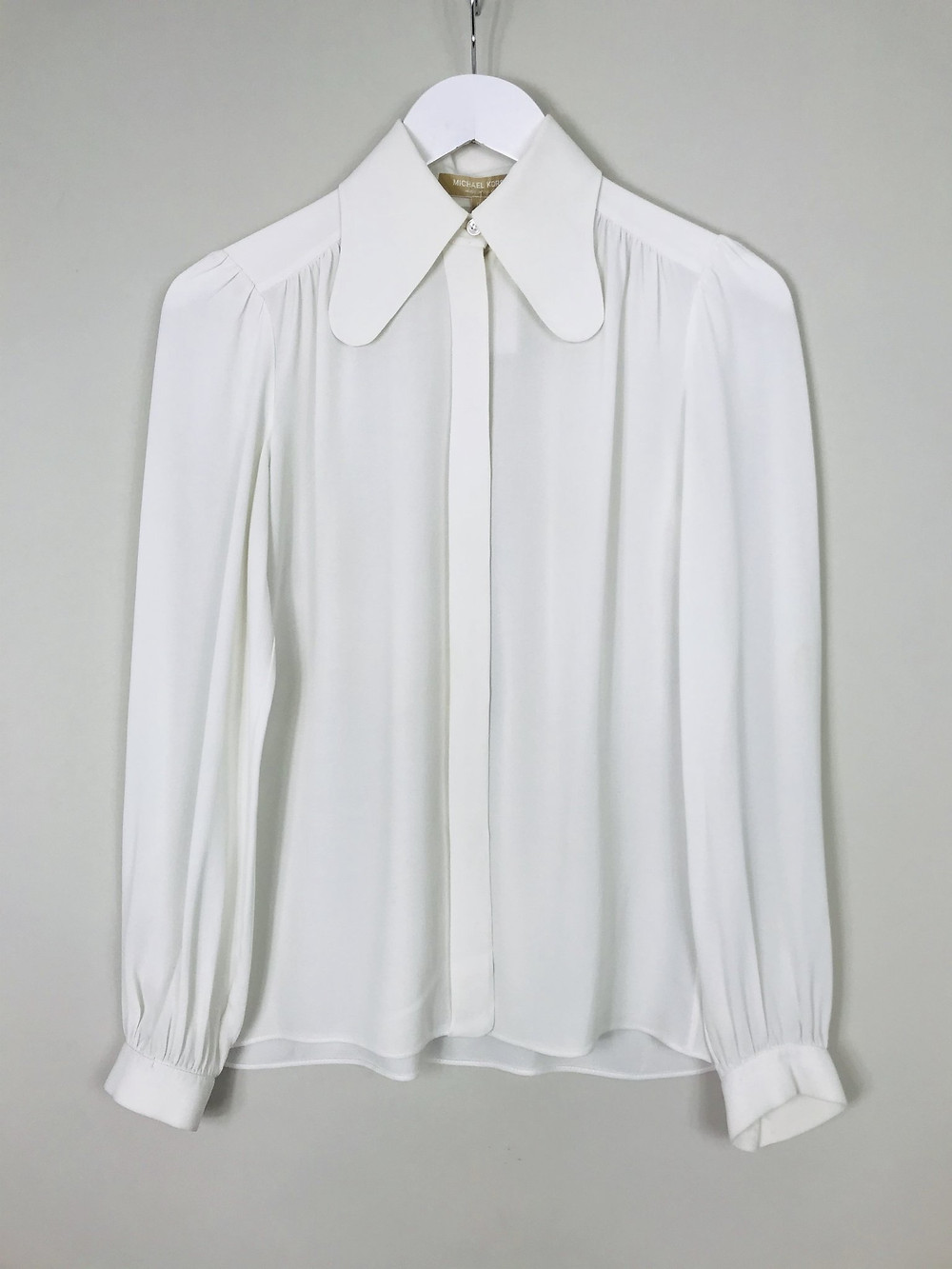 Michael Kors Long Collared Shirt, size 6, £60. wearebee.co.uk