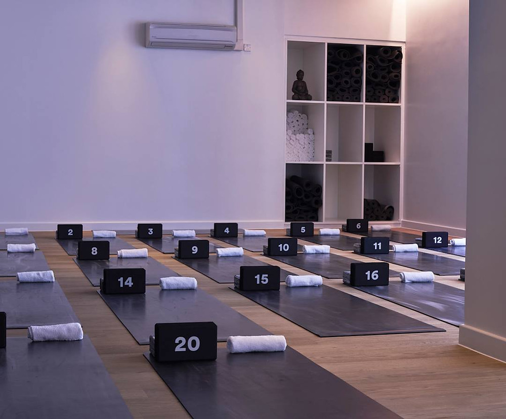 A yoga studio at Another_Space