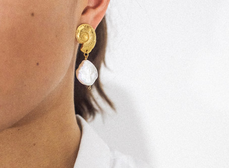 Recycled Gold & Baroque Pearls: Introducing Natalie Perry Jewellery
