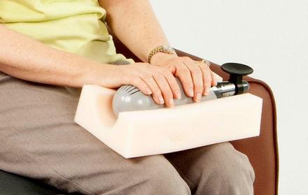 Hand arthritis treatment by Niagara CVT