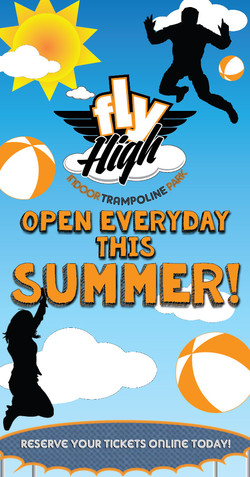 Fly High Summer Hours Ad