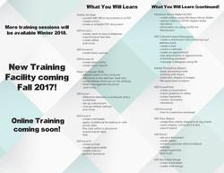 Technology Training Brochure