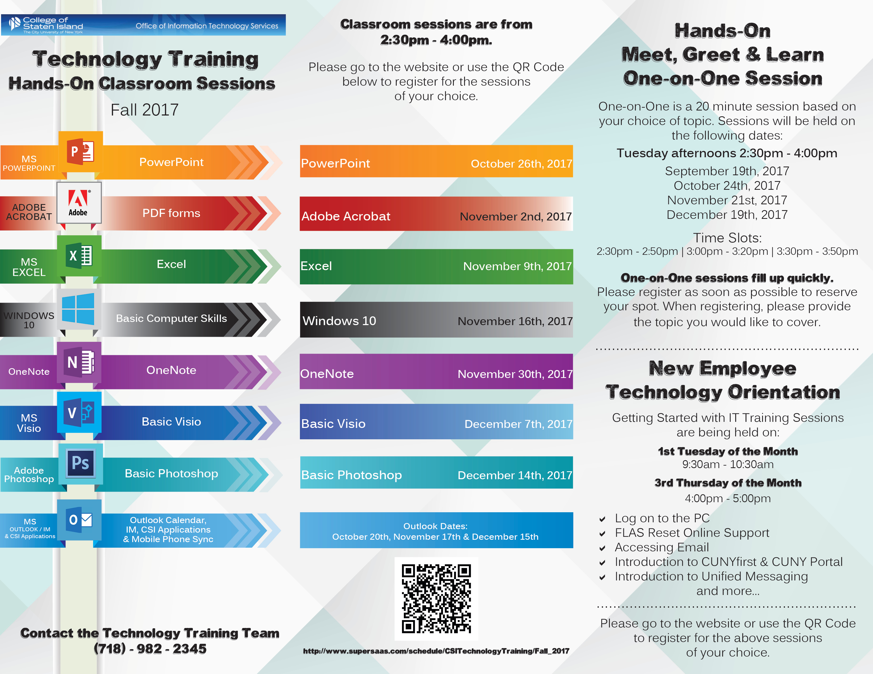 Technology Training Brochure