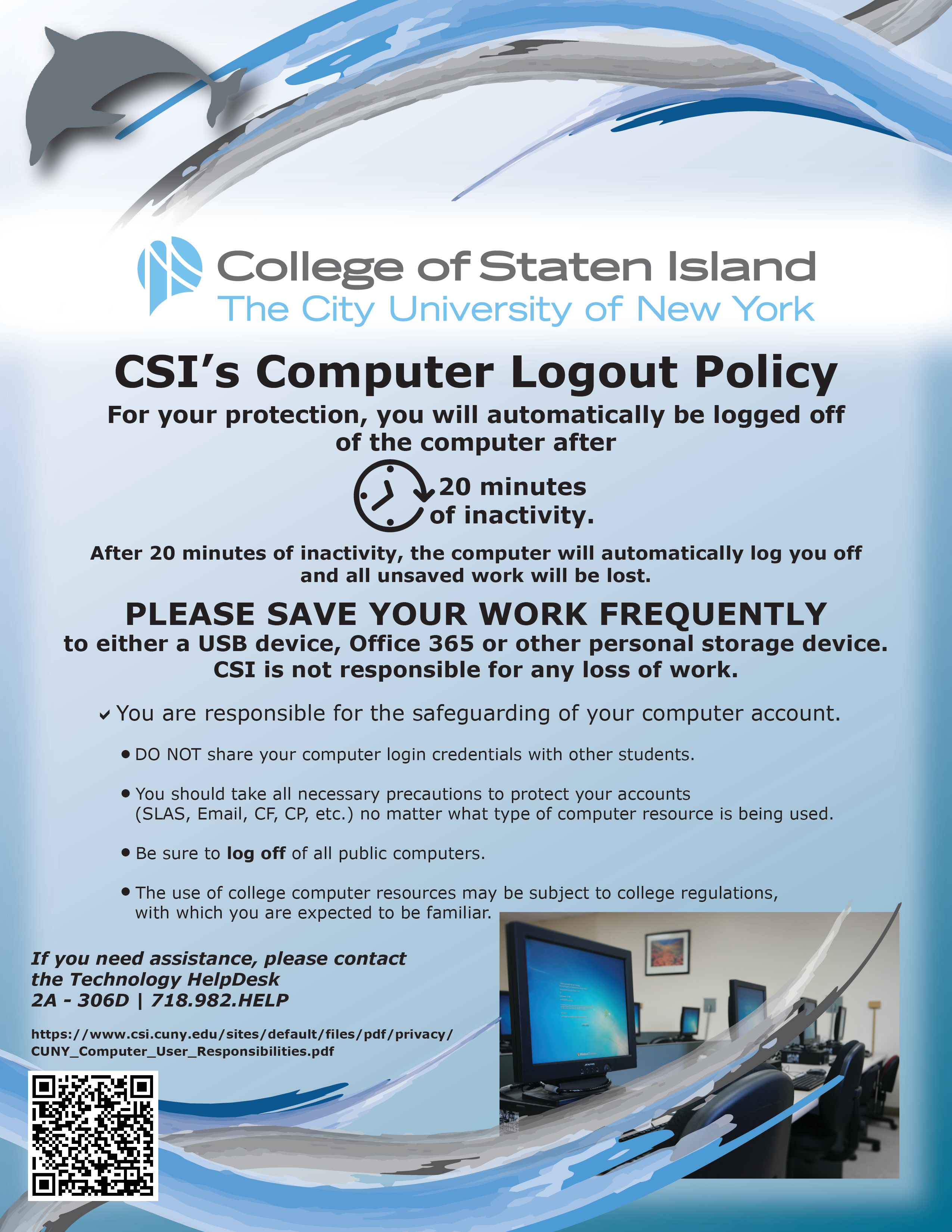 CSI Logout Policy