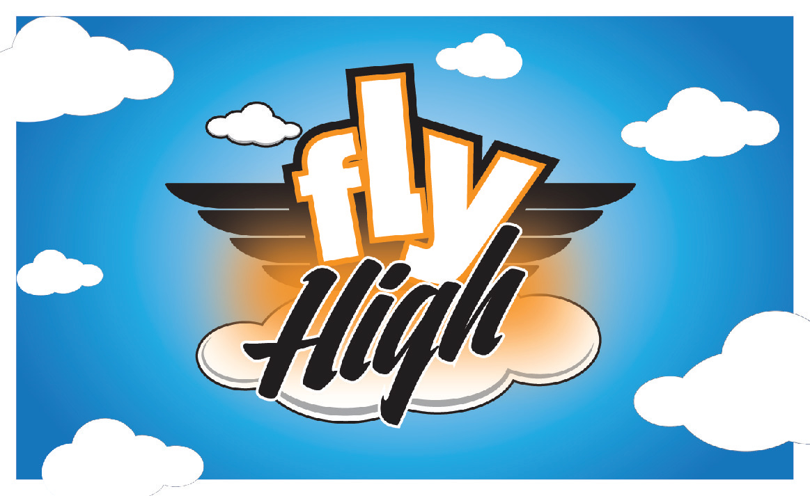 Fly High Business Card - Front