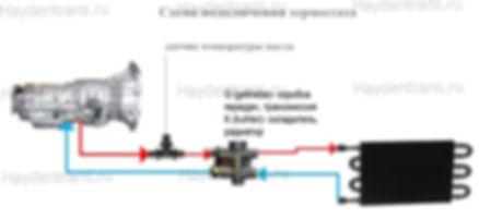 Схема подключения термостата Mahle Behr