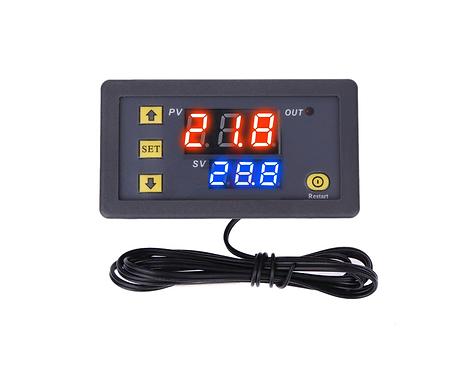 Контроллер включения вентилятора с датчиком температуры