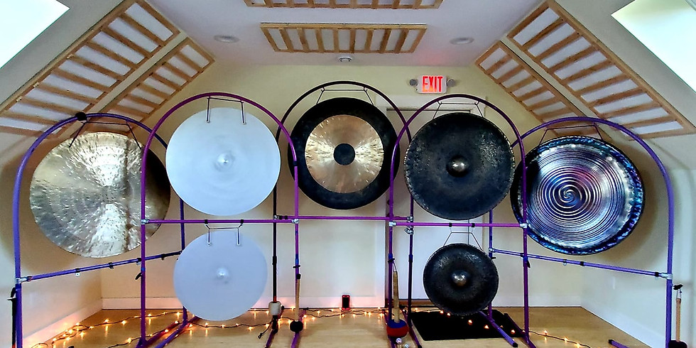 Summer Solstice Sound Immersion/Gong Bath with Jim Doble
