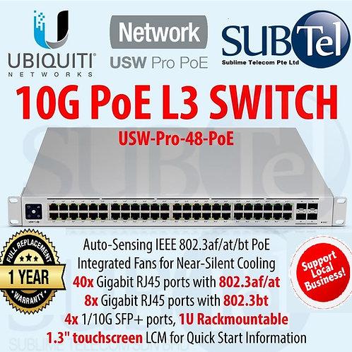 USW-PRO-48-POE Gen2 Ubiquiti Unifi POE Switch 48 Ports PoE++ SFP+ UBNT