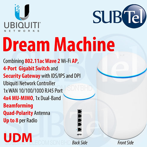 UDM - Unifi Dream Machine, Integrated Router, Switch, AP & Unifi Controller UBNT