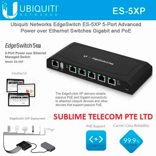 ES-5XP Ubiquiti EdgeSwitch XP 5 Gigabit Ports 24V PoE Newer Model Of TS-5-POE