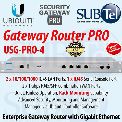 USG-PRO 4 Ubiquiti UniFi Security Gateway PRO SFP