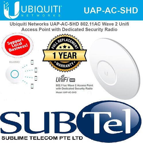 UAP-AC-SHD Ubiquiti Unifi Secure High Density Indoor/Outdoor Access Point