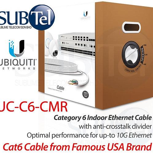 UC-C6-CMR Ubiquiti Indoor Cat6 Ethernet Cable UTP UBNT