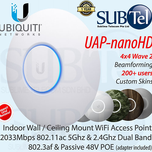UAP-nanoHD Ubiquiti UniFi Access Point 4 X 4 Wave 2 MU-MIMO UAP-nanoHD UBNT