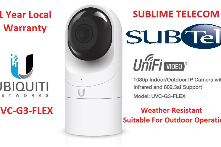 UVC-G3-FLEX Ubiquiti UniFi Video Camera G3 FLEX Weather Resistant IP Camera  UBNT | sublimetelecom