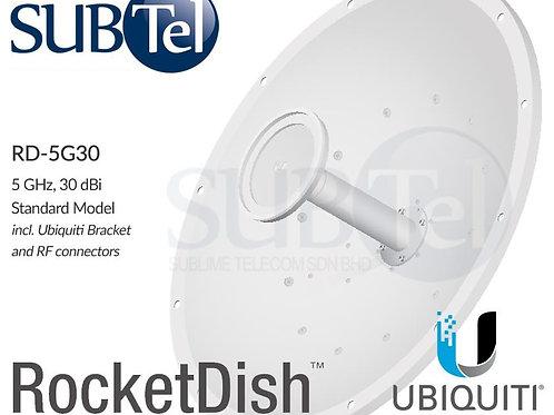 RD-5G30 Ubiquiti 5 GHz 30 dBi MIMO WiFi Parabolic Dish Antenna
