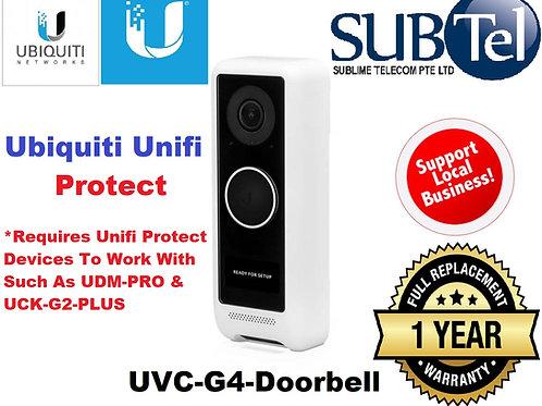 UVC-G4-Doorbell Ubiquiti Networks UniFi Protect G4 2MP Doorbell