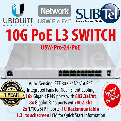 USW-PRO-24-POE Gen2 Ubiquiti Unifi POE Switch 24 Ports PoE++ SFP+ UBNT