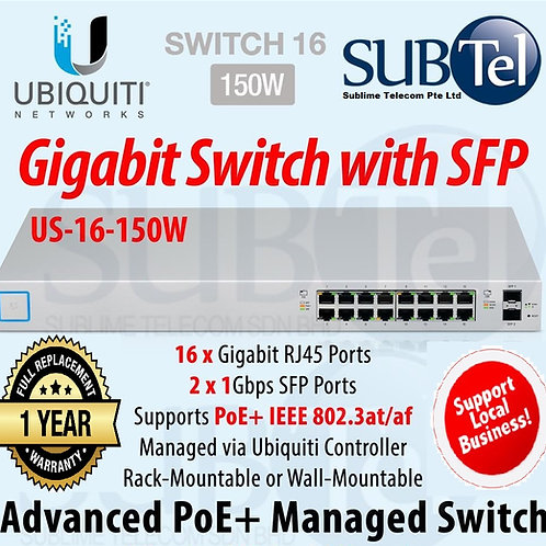 US-16-150W Ubiquiti UniFi Switch 16 Port 150W SFP UBNT