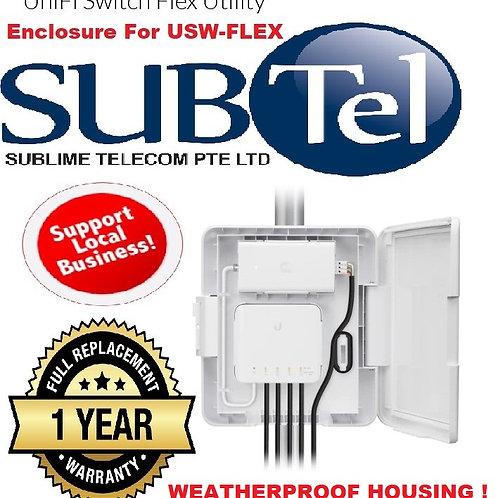 USW-FLEX-UTILITY Ubiquiti Weatherproof Outdoor Enclosure For USW-Flex Switch