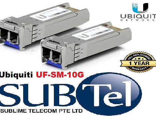 UF-SM-10G SFP+ Ubiquiti Networks Single-Mode Fiber Module (2 Per Pack) UBNT