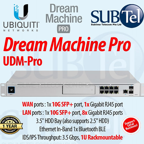 UDM-PRO Ubiquiti UniFi Dream Machine Pro UBNT Singapore