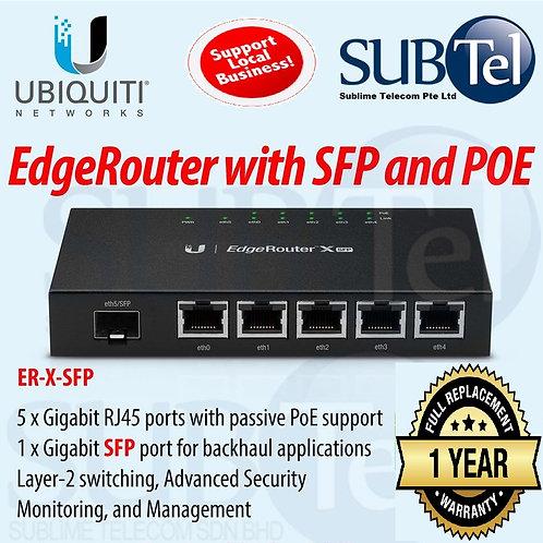 ER-X-SFP Ubiquiti Edge Router X SFP POE UBNT 5 Port Gigabit
