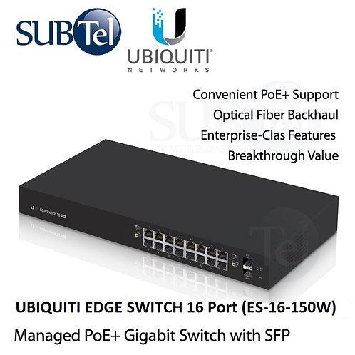 ES-16-150W Ubiquiti Edge Switch POE 16 Port SFP UBNT