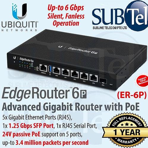 ER-6P Ubiquiti EdgeRouter 6 Port SFP UBNT Singapore