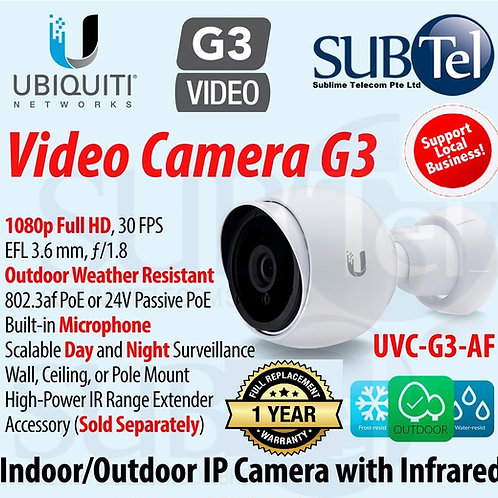 UVC-G3-Bullet Ubiquiti Unifi Video Camera Outdoor Full HD IP CCTV UBNT 1080P