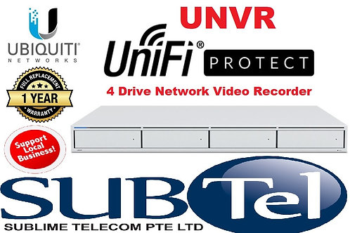 UNVR Ubiquiti UniFi Protect 4-Bay Network Video Recorder ( HDD Not Included )