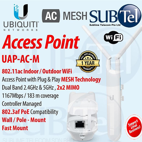 UAP-AC-M Outdoor Ubiquiti Unifi AP AC Mesh Dual Band WiFi