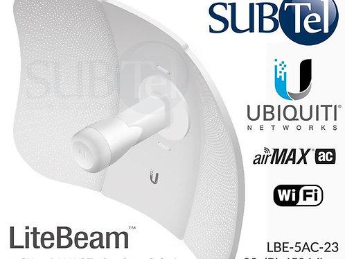 LBE-5AC-23 Ubiquiti LiteBeam AC 5GHz 23dBi AirMax CPE WiFi UBNT Bridge