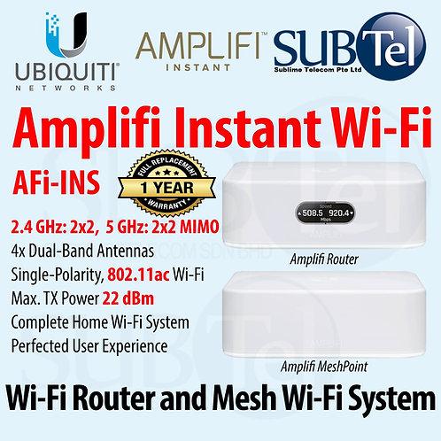 AFi-INS Ubiquiti Amplifi Instant Wifi Mesh Router AP vs AFI-HD AFi UBNT