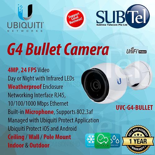 UVC-G4-Bullet Ubiquiti Networks UniFi G4 Series 4MP Indoor/Outdoor Bullet Camera