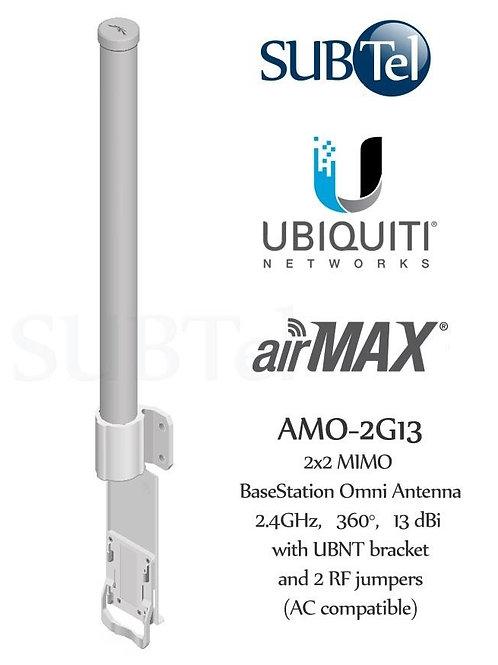 AMO-2G13 Ubiquiti 2GHz 13dBi AirMax MIMO Omni WiFi Antenna
