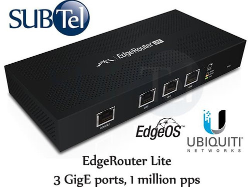 ERLite - 3 Ubiquiti Edge Router Lite UBNT 3 Port Gigabit