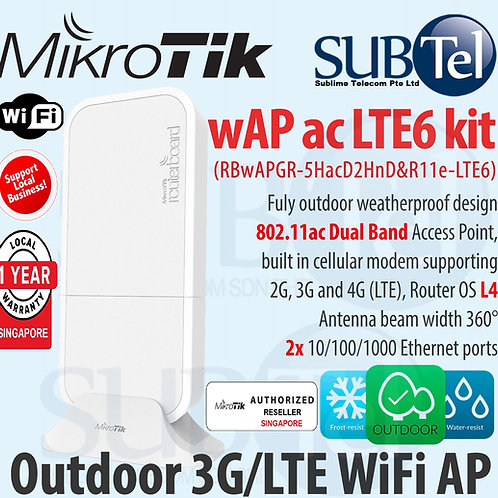 Mikrotik wAP ac LTE Kit Outdoor 2G 3G 4G Router Modem & WiFi AP Singapore