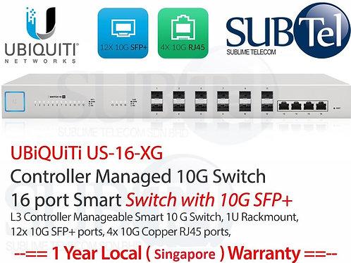 US-16-XG Ubiquiti 16 Port 10G Unifi Fiber Switch