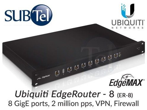 ER-8 Ubiquiti Edge Router 8 Port Gigabit UBNT