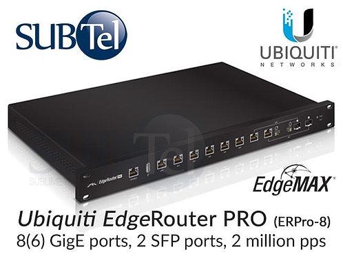 ER-PRO-8 Ubiquiti Edge Router 8 Port Gigabit PRO SFP UBNT